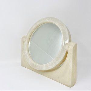 Vintage Plastic Vanity Mirror